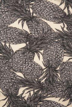 overlapping pineapples  - Mina Bach