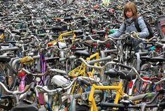 Bike Commuter Lot Full