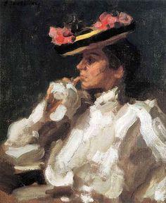 Jawlensky, Alexei (1864-1941) - 1901 Maria II (Wallraf-Richartz-Museum, Cologne, Germany by RasMarley, via Flickr