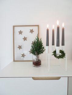 kubus by lassen kerzenhalter als adventskranz xmas. Black Bedroom Furniture Sets. Home Design Ideas