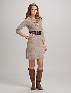 Lauren Ralph Lauren Two Tone Portrait Collar Dress | Collar dress ...