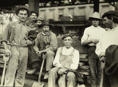 Italian labourers working under 6th. Ave. Elevated, New York City,1910, Lewis Hine photographer | Early Pictures
