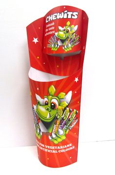 This week at Kenton we designed and manufactured this awesome Chewits dump bin!  Digitally printed for a vibrant, high quality print finish! These dump bins are perfect POS displays for fast selling confectionery. Super easy to assemble - simply pop up your POS display and utilise the prime retail positions in store. Check out more creative designs at www.kentoninstore.co.uk