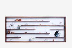 estante miniaturas | barauna