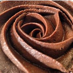A beautiful close up of the Classic Chocolate cupcake at Baked Love! ^_^  Picture by @manyagadhok1995 !  #BakedLove #BakedLovebyVatsala #chocolateswirl