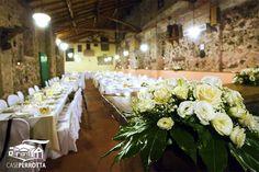 Delicati fiori per la Sala Cantina