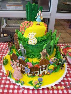 The Wizard of Oz Cake  Deidre's 3rd Birthday Party