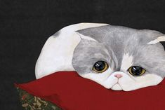 View album on Yandex. Japanese Cat, Baby Goats, Baboon, Cat Drawing, Photo Postcards, Art Music, Diy Painting, Cat Art, Illustrators