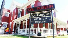 Fairmount Historical #Museum: James Dean Artifacts in Fairmount, #Indiana
