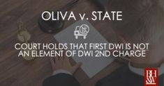 """Prosecutors had been admitting evidence of a prior DWI during trial on the merits for a DWI because courts had held that it was an """"element. Criminal Law, Criminal Defense, State Court, Fort Worth"""