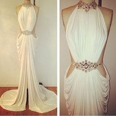 Find More Evening Dresses Information about 2014 Free shipping Satin V neck beaded Homecoming Party Prom Gowns Formal Long Evening dresses zuhair murad tarik ediz TK229,High Quality dress combination,China dress flow Suppliers, Cheap dress stand from Think Unique on Aliexpress.com