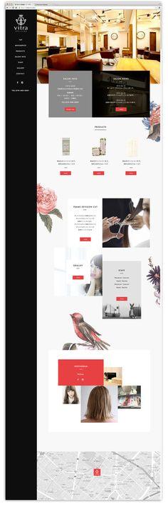 kizzさんの提案 - ヘアサロンのホームページデザイン募集(TOP1ページのみ)※初心者の方も大歓迎です! | クラウドソーシング「ランサーズ」