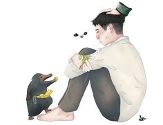 I'm convinced that Credence survived and is now living with Newt in the case, getting better, being taught magic, and helping take care of newts creatures. Harry Potter Books, Harry Potter Fan Art, Harry Potter Universal, Harry Potter World, Fantastic Beasts Fanart, Fantastic Beasts And Where, Credence Fantastic Beasts, Credence Barebone, Tumblr