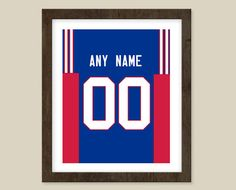 Buffalo Bills print  Jersey Design   Customization by CSportImages