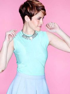 20+ Brown Pixie Cuts | Pixie Cut