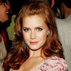 Amy Adams and her gorgeous russet hair.