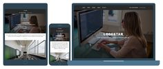 This Theme Thursday, I'm happy to share Lodestar, our newfree theme! Lodestar Designed by Mel Choyce, Lodestar is perfect for your small business or organization swebsite. The themeallows you to create a one-page website, showcasing all your company sinformation in one spot, interspersed with full-sized featured images. Or you can use Lodestarto