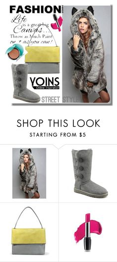 """YOINS"" by edita-n ❤ liked on Polyvore featuring UGG Australia and Guerlain"