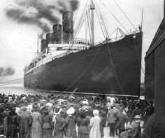 The Lusitania's Final Voyage from New York 1915