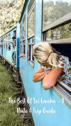 Sri Lanka Itinerary – Places To Visit In Sri Lanka - Wanderers & Warriors - Charlie & Lauren UK Travel Couple - Train Tracks