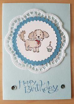 Birthday Card - Bella and Friends Stampin'Up AvT - Auriette van Tastik: Buon compleanno con Bella!
