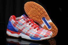 eaa331000d0 Adidas Originals ZX Flux Clot Edison Chen Red White Blue Running Adidas
