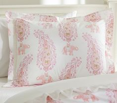 Elyse Quilt Cover - Pink