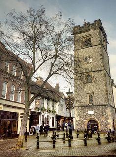 St Albans Clock Tower, Hertforshire, UK by Howard Somerville, via Flickr. I grew up in St Albans and cannot remember how often I passed this local landmark or looked across the city from the roof.