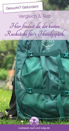 95c326ef4606f Handgepäck Rucksack  5 super Modelle im Test   Vergleich!