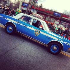 Classic NYPD ride #throwback