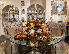 Peruse the most exclusive selection of luxury fall décor in the Chicagoland area at Linly Designs during their Fall Open House Fall Home Decor, Autumn Home, Decorating Your Home, Interior Decorating, Interior Design, Relaxing Bath, Fall Table, Scandinavian Home, Creative Decor