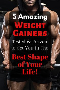 Discover the most effective weight gainer supplements without side effects. Backed by science and up to date for Click Now! Muscle Fitness, Gain Muscle, Build Muscle, Muscle Building, Best Mass Gainer, Best Weight Gainer, Muscle Protein, Whey Protein, Best Protein Powder