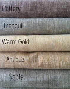 Custom Linen Drapery Panels. Natura Collection. Available in 28 colors! Linen Curtains. Natural Linen Fabric. Pinch Pleat Linen Drapery by HFDraperyStudio on Etsy