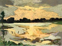 Kees Bol, Agitated air and water, 1978