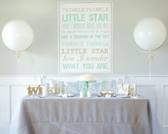 Everything you need to host a twinkle twinkle birthday party all in one box, delivered to your door.