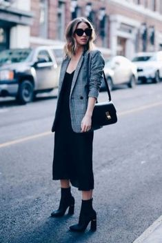 4ba14fc32956 Stunning Casual Chic Womens Blazer Outfits Ideas26 Blazer Outfits Casual