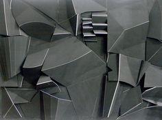 saatchionline:    Black composition IPaper-Mache Sculptureby Jesus Zuazo GarridoAlicante, Alicante, SpainOriginal: $6,000.00Print: $35.00