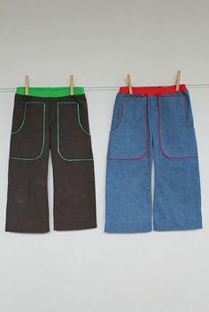 Made patroon voor kinderbroeken. Ziet er handig uit.