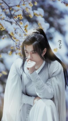 Hanfu, Chinese Boy, Chinese Style, Fu Image, Li Hong Yi, Boys Long Hairstyles, Body Poses, Soyeon, Cute Gay