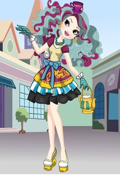 madeline Hatter (Ever After High) by on DeviantArt Ever After High, Avatar, Disney Princess Drawings, Monster High, Cute Art, My Little Pony, Alice In Wonderland, Hello Kitty, Costumes