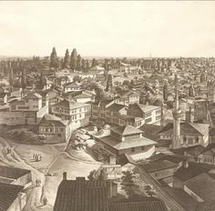 Bucharest, Ottoman Empire, Istanbul Turkey, Library Of Congress, Paris Skyline, Singapore, Egypt, Past, Vintage World Maps