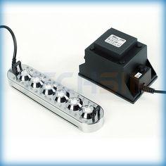 Ultrasonic mist maker, nebulizer, humidifier, sprayer, fogger. DK6-24C in changing color.
