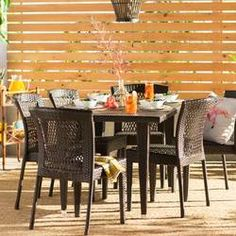 Shop a great selection of Vinalhaven 7 Piece Dining Set. Find new offer and Similar products for Vinalhaven 7 Piece Dining Set. Outdoor Dining Set, Patio Dining, Patio Table, Outdoor Tables, A Table, Outdoor Living, Outdoor Furniture Sets, Outdoor Decor, Dining Room