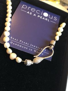 peach ivory potato pearl necklace with snake clasp classic – Precious as a Pearl Online Gift Cards, Real Pearls, Freshwater Pearl Necklaces, Gift Vouchers, Silk Thread, Potato, Snake, Card Making, Peach
