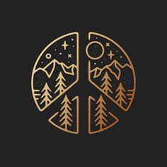 This but with the Star Trek sigil and a spacey background might be cool Paz Hippie, Peace Sign Tattoos, Logo Design Inspiration, Doodle Art, Easy Drawings, Body Art Tattoos, Art Inspo, Line Art, Illustration
