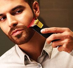 c6875a5e1f30 Trim your beard with laser-like precision.