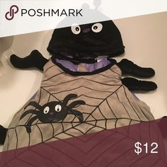 Pottery Barn Kids Spider costume Adorable spider costume from PBK! Fits up to 24mos. Saint Laurent Costumes Halloween