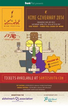Sante South is the South's premier wine event. All proceeds will benefit the Alzheimer's Association. With more than 30 vintners of fine wines from across the globe, and the best in the state restaurant fare offering samplings of their wares, the evening promises to be superb! Phone 601.987.0020 Email MS-info@alz.org Website http://www.santesouth.com/