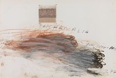 Cy Twombly, Bacchanalia-Fall (5 Days in November), 1977
