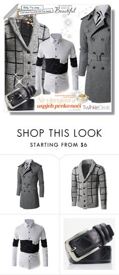 """Baby I am alone for New year... Please comeee"" by malasirena989 ❤ liked on Polyvore featuring WALL, men's fashion and menswear"